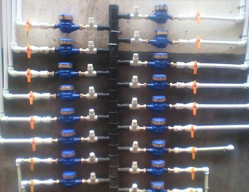 机械水表使用案例